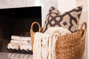 large basket for storing throw pillows photos hgtv