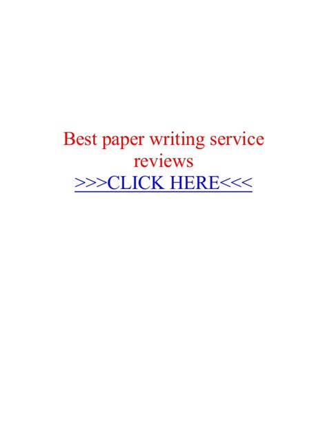 Best Essay Writing Service Review by Best Paper Writing Service Reviews