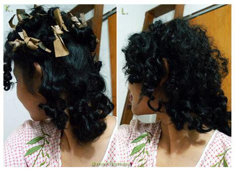 tutorial mengikat rambut lucu merilla may s blog tutorial keriting rambut modal