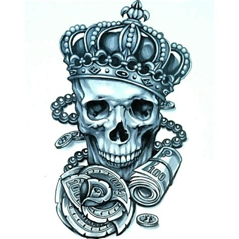 skull with crown tattoo designs skinevolutiontattoo konomi konomiangel