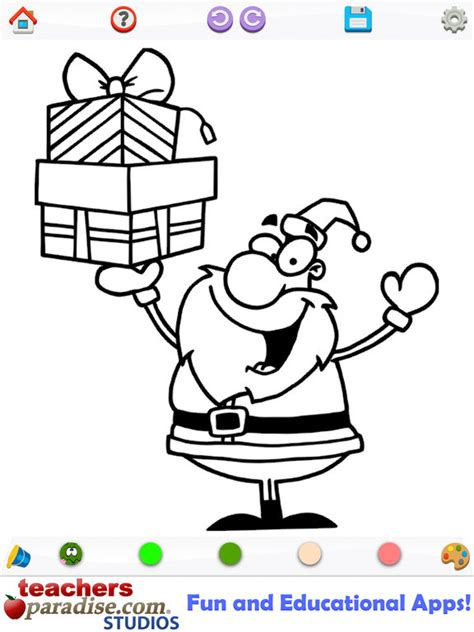 App Shopper Christmas Coloring Coloring Book For Kids Kid Coloring Apps
