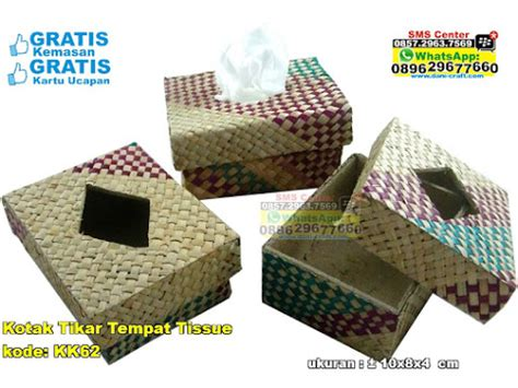 Tempat Tissue Box Tissue Bambu box tempat tissue kotak anyaman pandan souvenir pernikahan