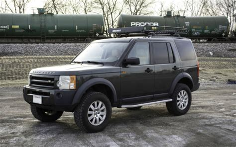 land rover lr4 lifted 2006 land rover lr3 se v8 4x4 lifted with basket