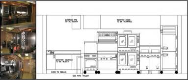 commercial kitchen design layout architecture design