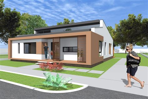 contemporary bungalow house designs small modern bungalow house design 133 square meters 1431 sq feet archicad and