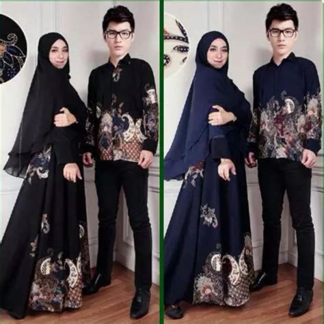 Baju Muslim Leony 3in1 Gamis Set daftar harga baju gamis batik untuk pesta pernikahan