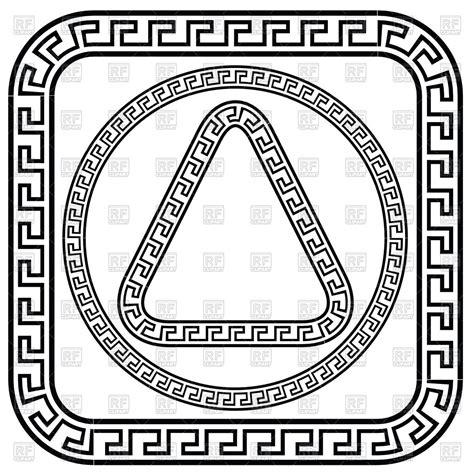 pattern greek vector greek meander patterns royalty free vector clip art image