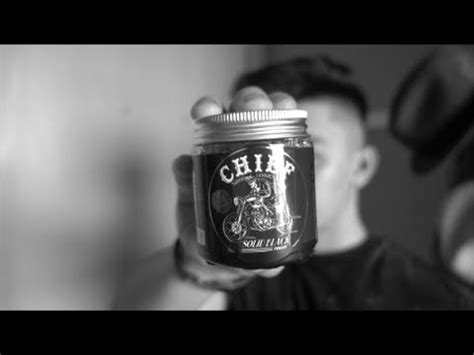Chief Pomade Solid Black chief solid black pomade limited edition review