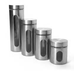Stainless Steel Canisters Kitchen by Gallery For Gt Kitchen Canisters Stainless Steel