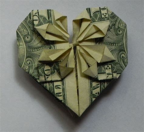 Origami From A Dollar Bill - dollar bill bookmark crafts