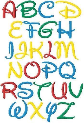 printable disney alphabet letters 9 best images of large disney font letter printables