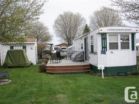 Trailer Cottage by Country Cottage Park Model Trailer 39 Ft For Sale In Chatham Ontario Classifieds