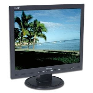 Monitor Lcd Philips 14 philips 170s5fb 17 inch 1280 x 1024 16ms black