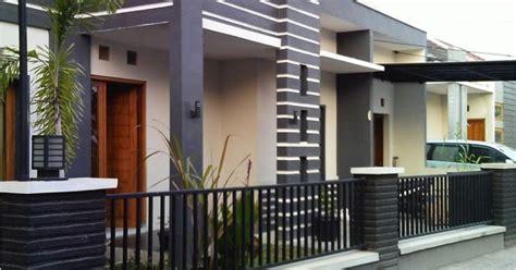desain pagar rumah minimalis modern design minimalis ala