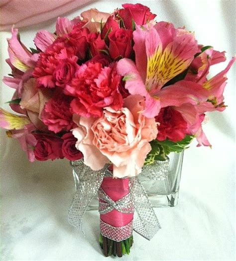Prom Bouquets by All Pink Prom Bouquet Prom Flowers