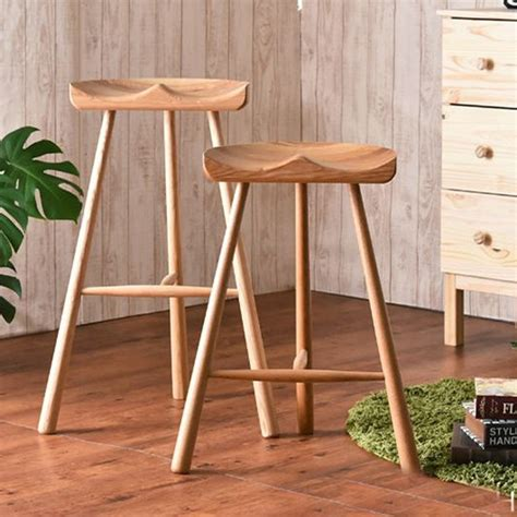 Handmade Wooden Bar Stools - fashion stool 100 wooden bar stool the nordic style