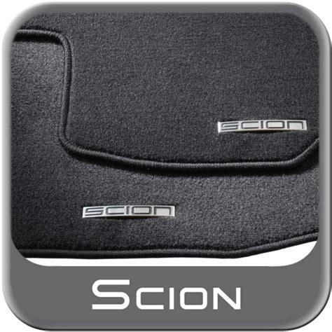 Scion Car Mats by 2011 2013 Scion Tc Carpeted Floor Mats Black W Logo