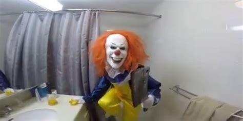 pranks in the bathroom clown in bathroom prank terrifies brother huffpost uk