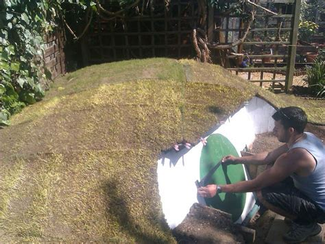 How To Build A Hobbit House In Your Backyard Bored Panda