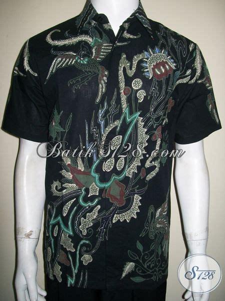 busana batik pria muda motif modern unik berkelas high