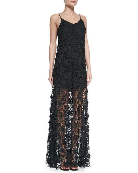 Spaghetti Maxi Lace Dress erin erin fetherston spaghetti lace maxi dress