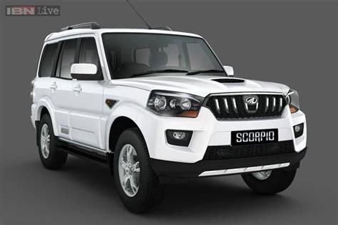 mahindra scorpio new models unveiled the new mahindra scorpio auto photos ibnlive