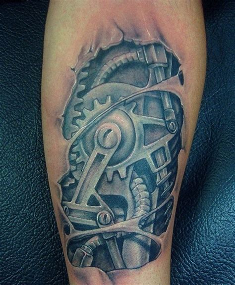 biomechanical motor tattoo biomechanical tattoo for jason pinterest