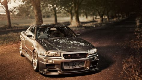 nissan skyline r34 wallpaper nissan skyline gtr r34 wallpapers wallpaper cave