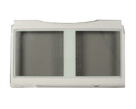 samsung refrigerator crisper drawer parts samsung rf267aars xaa shelf crisper drawer cover genuine oem
