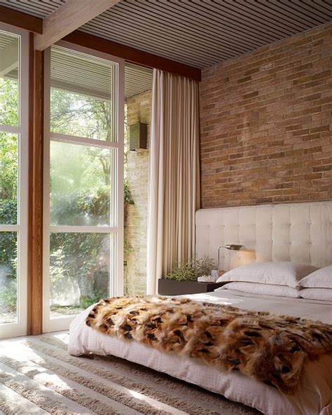 bedrooms with exposed brick walls diy brick wall exposure