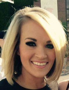 country singer cut hair short carrie underwood bob short hair pinterest carrie