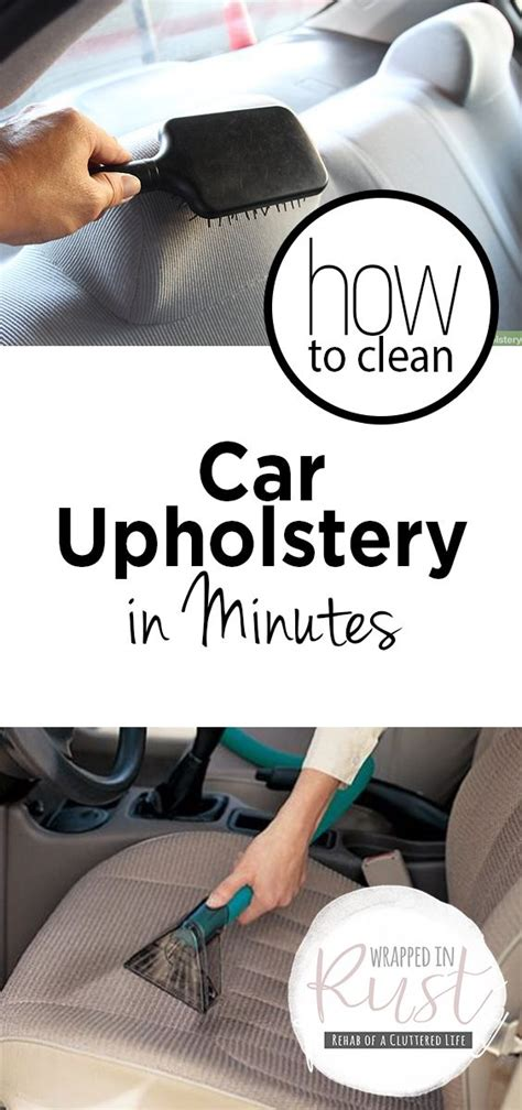 Best Product To Clean Car Upholstery - best 25 car upholstery cleaner ideas on car