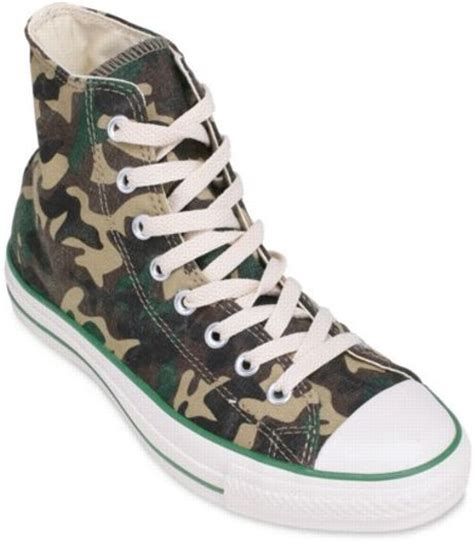 converse camouflage sneakers converse all camouflage ankle sneakers in multicolor