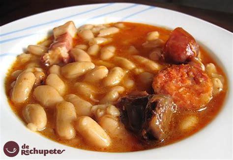 recetas de cocina tradicional casera fabada o fabes receta tradicional asturiana receta
