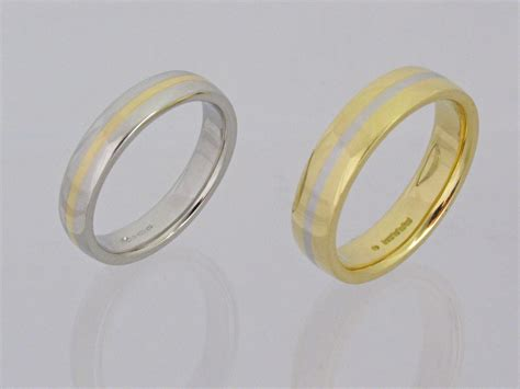 His And Hers Wedding Rings by Handmade His And Hers Wedding Rings Ian Mortimore Jewellery