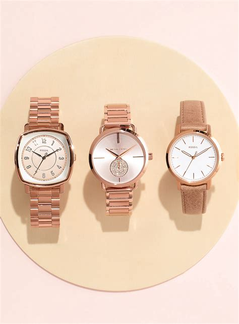 Fossil Idealist Rosegold the prettiest pink hues for 2017 nawo