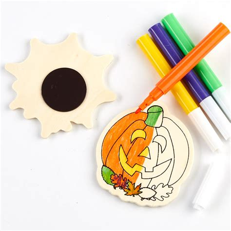 Souvenir Belanda Tempelan Magnet Ready Stock ready to color pumpkin and spider magnet craft kit what s new craft supplies