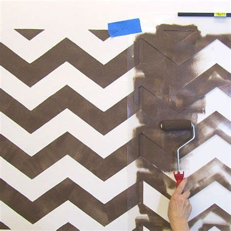 chevron pattern wall stencil chevron allover stencil small scale reusable stencil