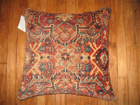 Rug Pillows by Pillow Made From A Rug Second Shout Out
