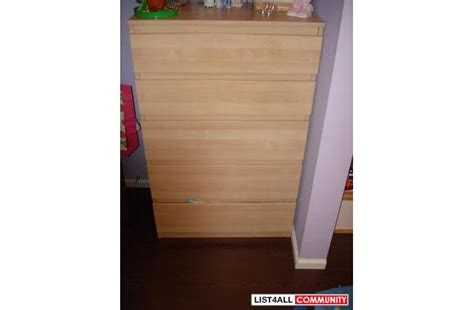 news kullen chest with 5 drawers on kullen 201 637 55