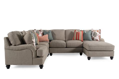 sectional sofas mathis brothers ashley kerridon putty sectional mathis brothers furniture