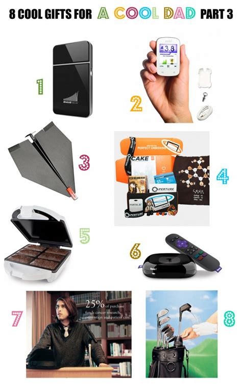 Cool Gifts For - 8 cool gifts for a cool part 3