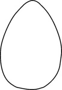 free easter egg stencil