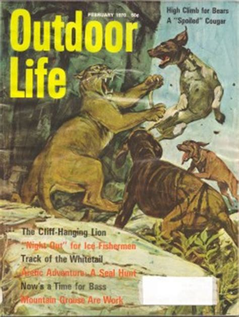 vintage february 1945 outdoor life magazine hunting vintage outdoor life magazine february 1970 good