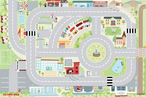 Le Play Mat by Le Town Playmat