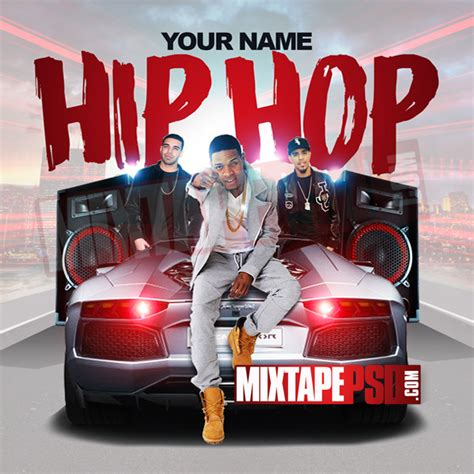 mixtape template hip hop radio 12 mixtapepsd com