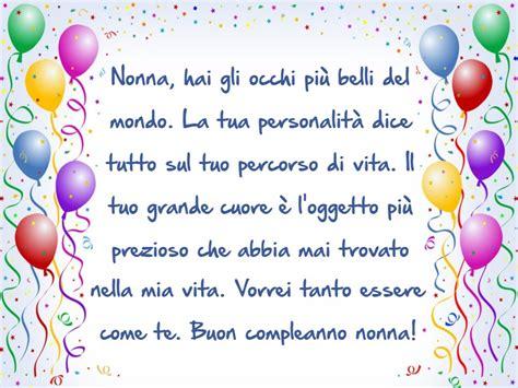 lettere di auguri compleanno frasi di auguri di buon compleanno nonna auguri di buon