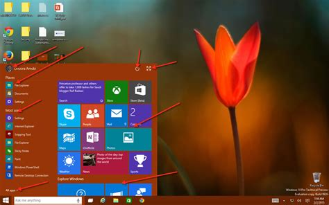 windows 10 start tutorial windows 10 tutorials 2 the new windows 10 start menu
