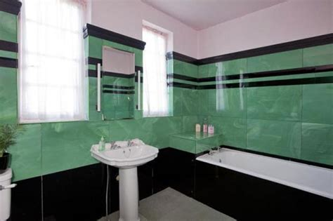 1930s bathroom suite obertal b listed art deco house in leven fife scotland