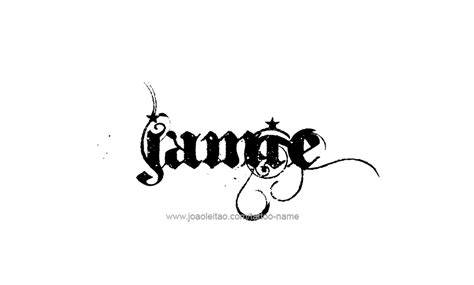 tattoo lettering for jamie jamie name tattoo designs